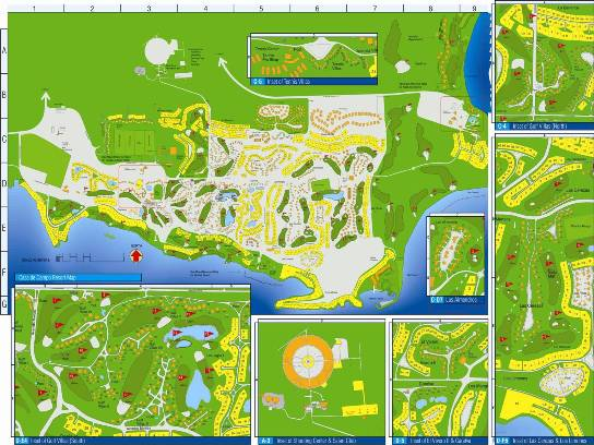 Casa de Campo Marina Casa De Campo Dominican Republic Map on